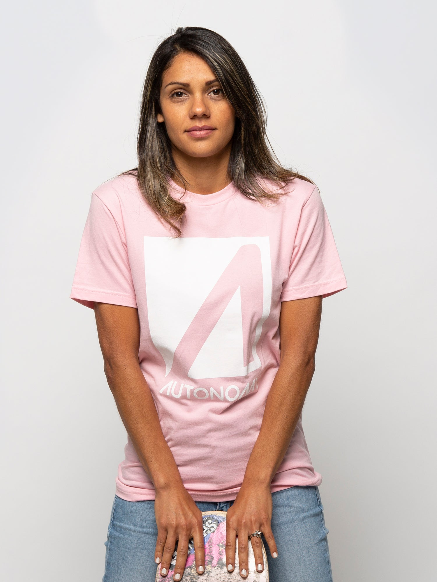 Autonomy No Comply T-shirt - Light Pink