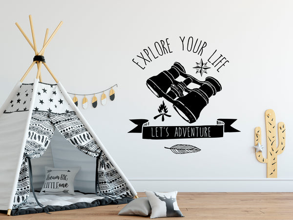 Explorer Boys Room Wall Decals - Rebels and Roses Boutique