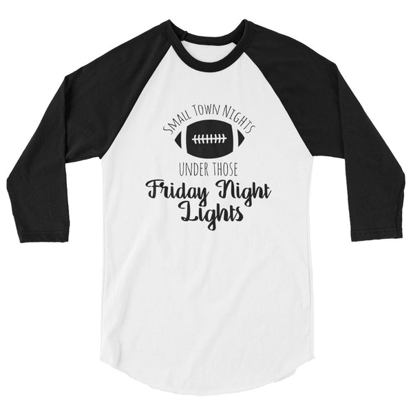 Friday Night Lights Football Raglan - Sports Shirt for Her - Rebels and Roses Boutique