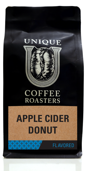 Apple Cider Donut Flavored Coffee - Unique Coffee Roasters [16oz (1lb)(453.6g)]