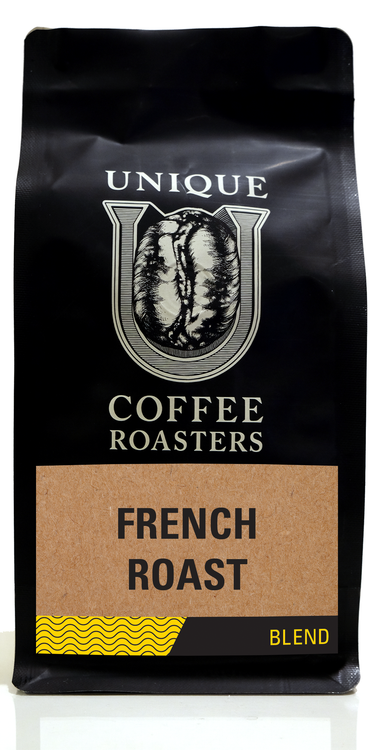 French Roast - Unique Coffee Roasters [16oz (1lb)(453.6g)]