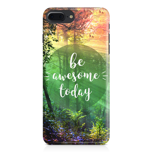 Motivational quotes design Apple Iphone 7 Plus  printed back cover