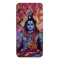 Shiva painted design Asus Zenfone 5 printed back cover