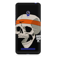 Skull Funny Just Did It !  design,  Asus Zenfone 5 printed back cover