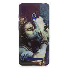 Smoking weed design Asus Zenfone 5 printed back cover