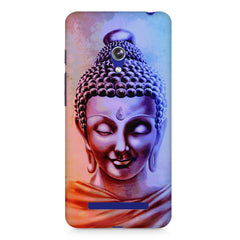Lord Buddha design Asus Zenfone 5 printed back cover