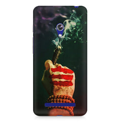 Smoke weed (chillam) design Asus Zenfone 5 printed back cover