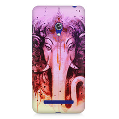 Lord Ganesha design Asus Zenfone 5 printed back cover