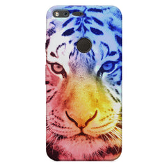 Colourful Tiger Design Google Pixel XL hard plastic printed back cover