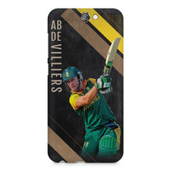 Ab De Villiers the Batting pose    HTC One A9 hard plastic printed back cover