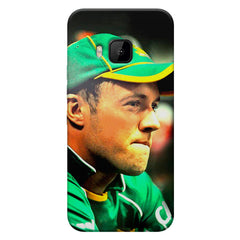 AB de Villiers South Africa  HTC one M9  printed back cover