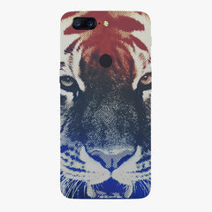 Pixel Tiger Design Oneplus 5T hard plastic printed back cover