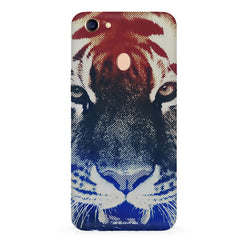 Pixel Tiger Design Oppo F7 hard plastic all side printed back cover