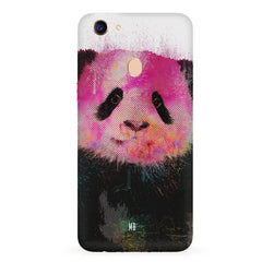 Polar Bear portrait design Oppo F7 hard plastic all side printed back cover