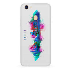 Incredible India Design Oppo F7 hard plastic all side printed back cover