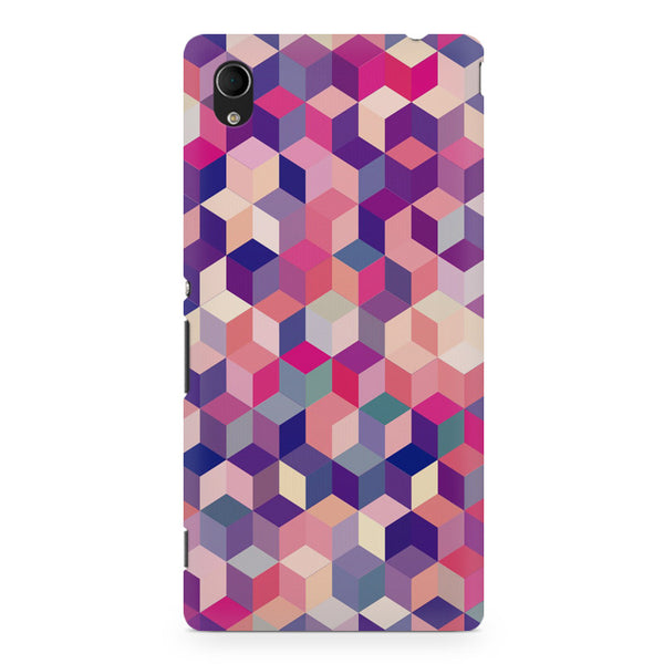 3D Colorful shapes Sony Xperia Z5/Z5 Dual printed back cover