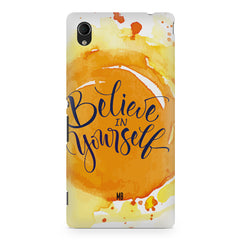 Believe in Yourself Sony Xperia Z5/Z5 dual hard plastic printed back cover