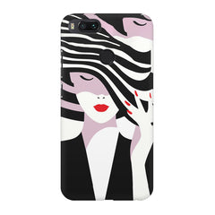 woman  design,  Xiaomi Mi4a  printed back cover
