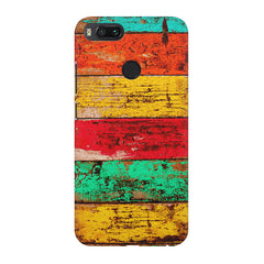 Strips of old painted woods  Xiaomi Mi4a  printed back cover