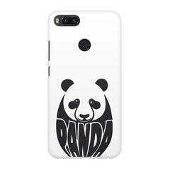 White Panda  design,  Xiaomi Mi4a  printed back cover
