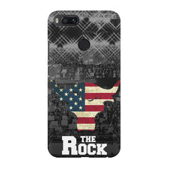The Rock  design,  Xiaomi Mi4a  printed back cover