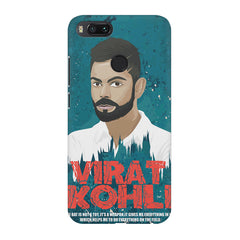 Virat Kohli Indian Cricket Team Captain Quote design,  Xiaomi Mi4a  printed back cover