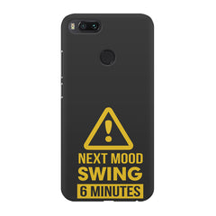 Warning for Next mood swing Xiaomi Mi4a  printed back cover