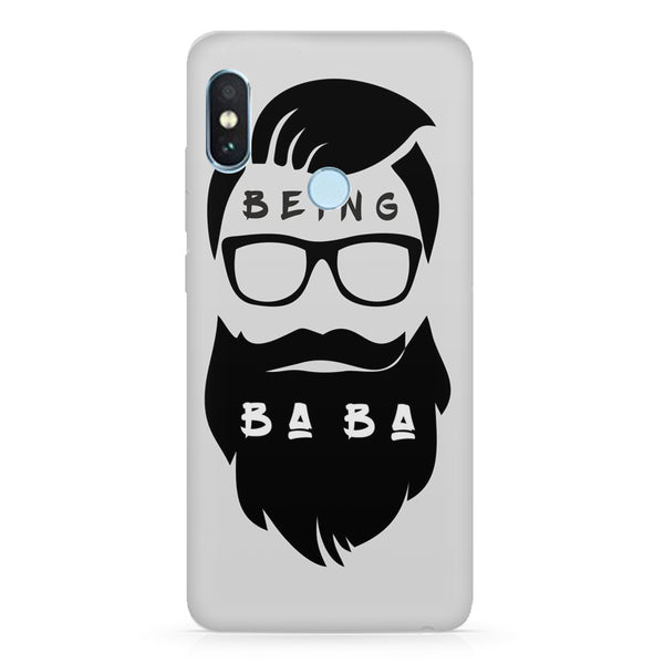 Being BaBa design Xiaomi Mi A2 LIte/6 Pro hard plastic printed back cover