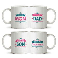 Family gifts for everyone - Perfect family gift - Best mom, best dad, best daughter, best son Printed Coffee Mugs