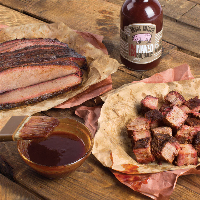 Meat Mitch - The Whole Packer - Burnt Ends & Sliced Brisket