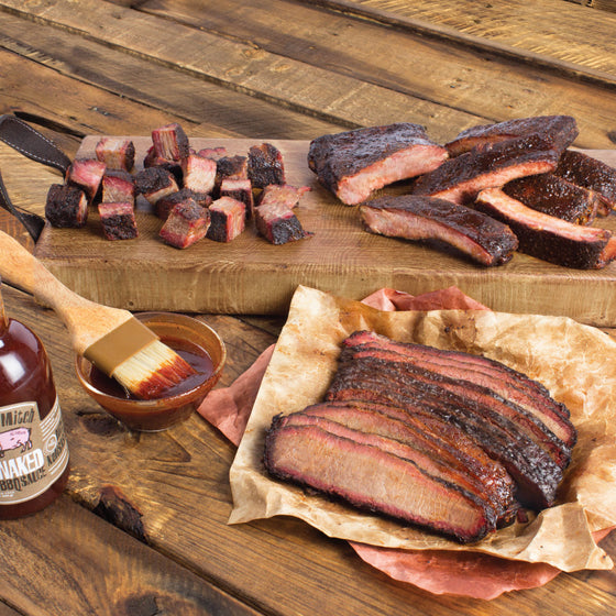 Meat Mitch – The Show Up! - Ribs, Sliced Brisket & Burnt Ends