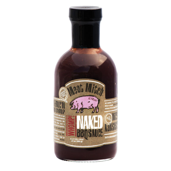 NAKED BBQ SAUCE 21oz ALL NATURAL GF