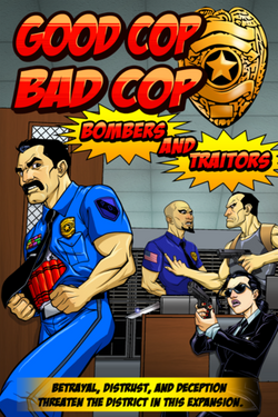 Good Cop Bad Cop: Bombers and Traitors (Expansion)