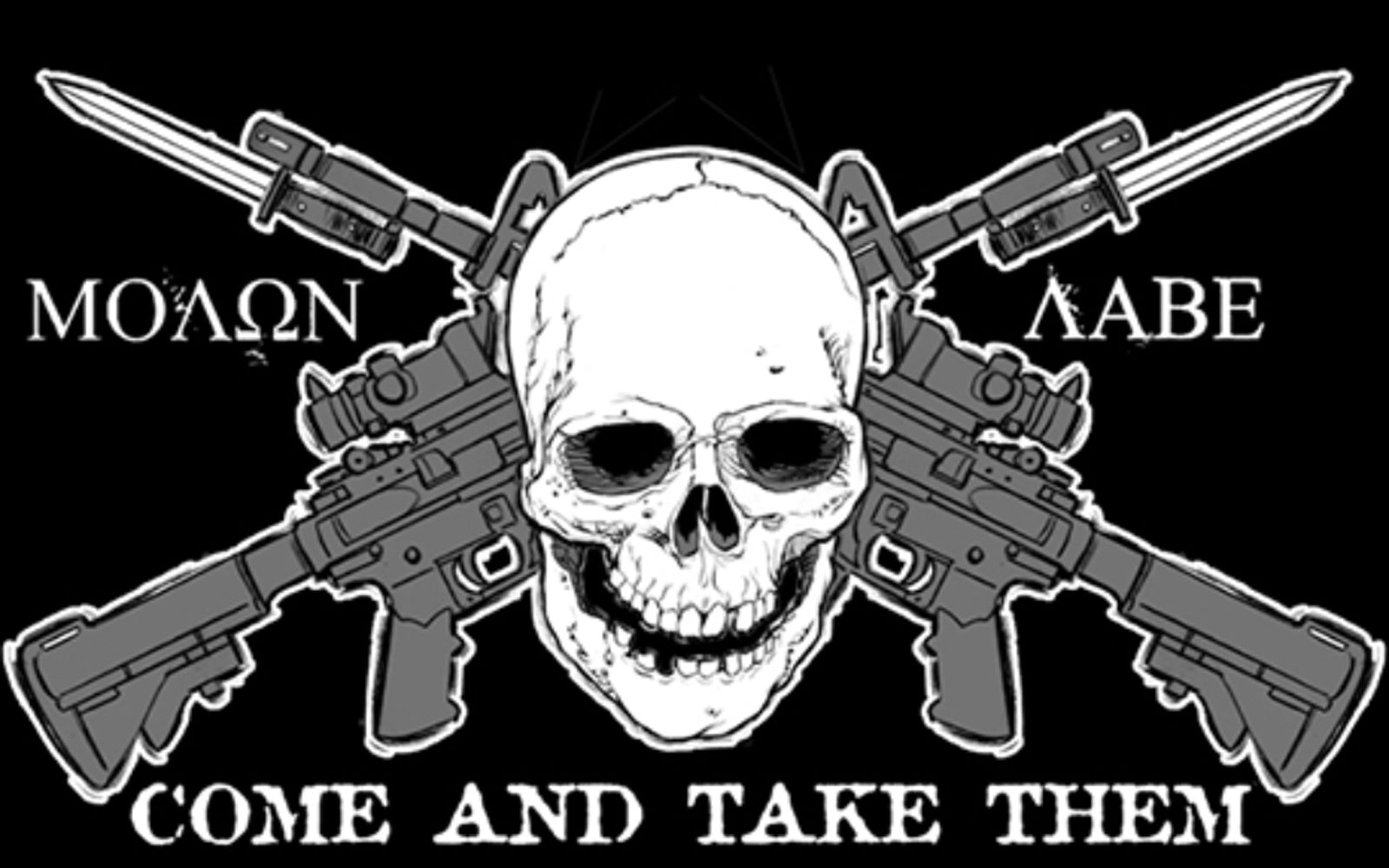 Molon Labe Patches