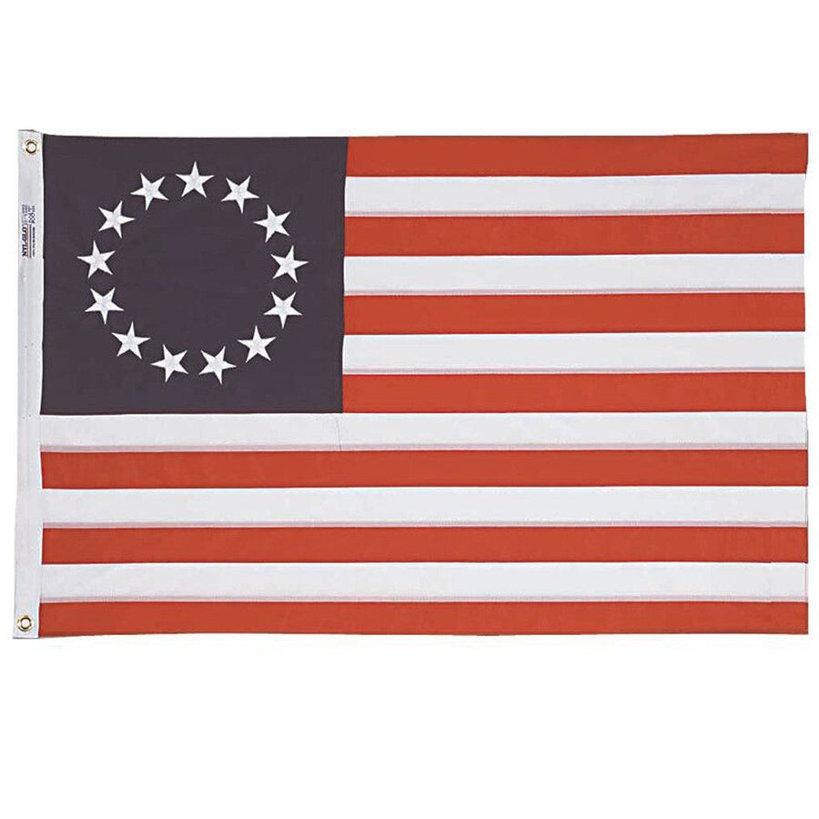 3x5 ft Betsy Ross Embroidered Nylon - Annin Co.
