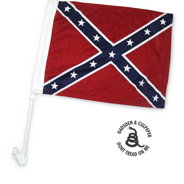 Confederate Car Flag with window stick