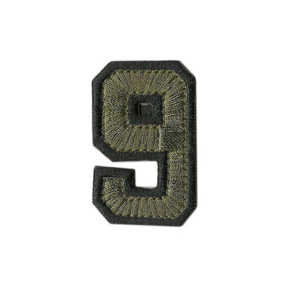 "Tactical Numbers 2"" x 1.25"" - Olive Drab"