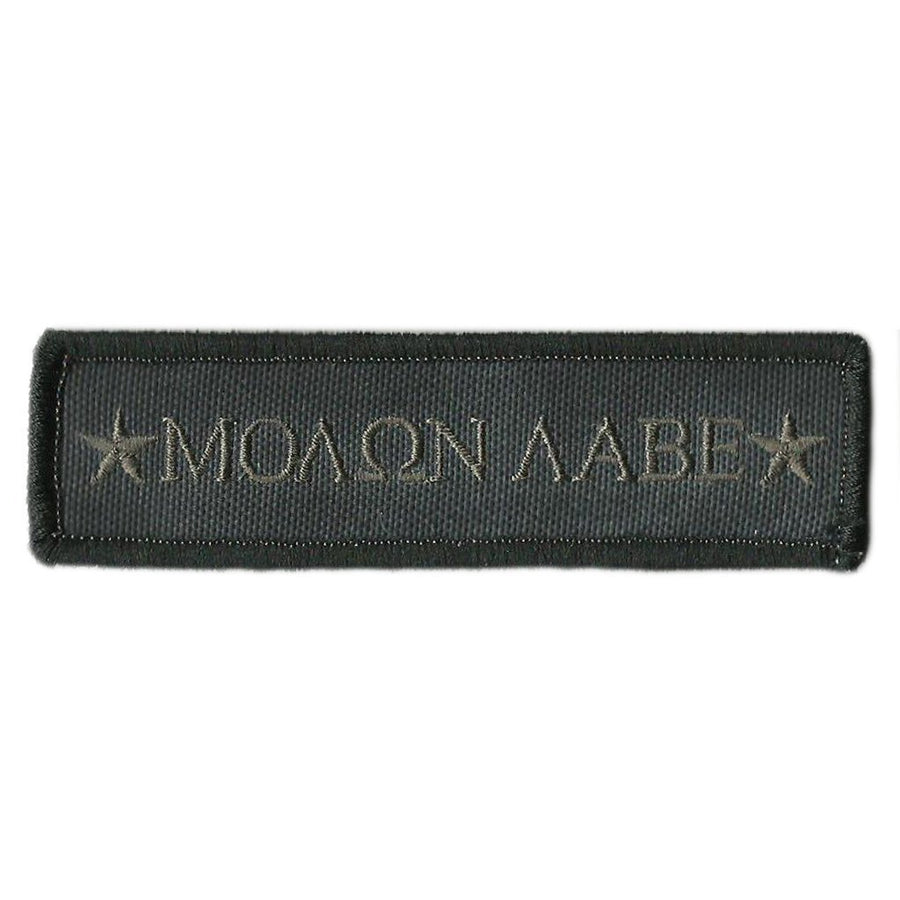 Kryptek-Typhon Molon Labe Morale Tactical Patch