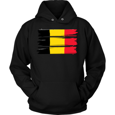 Belgian, Belgium Europe Patriotic Country Flag Hoodie