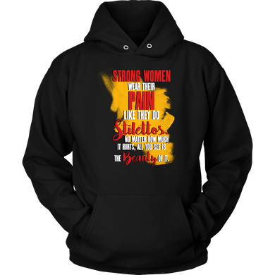Strong Women Inspirational Motivational Quote Hoodie
