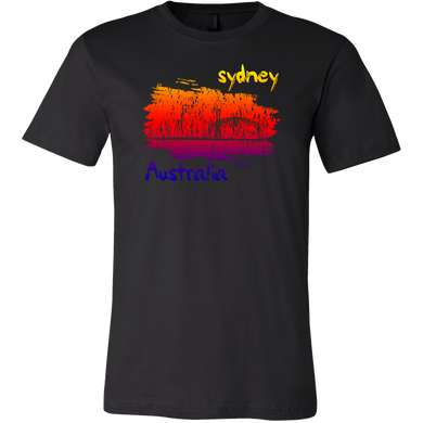 Sydney Australia Skyline Horizon Sunset Love  Apparel