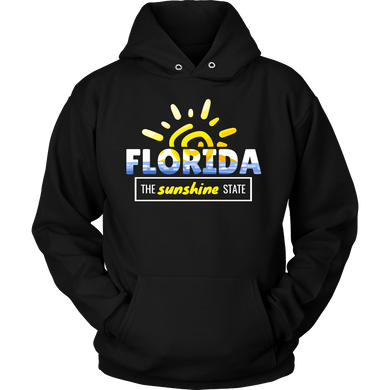 Florida, Sunshine State, Tropical American Hoodie