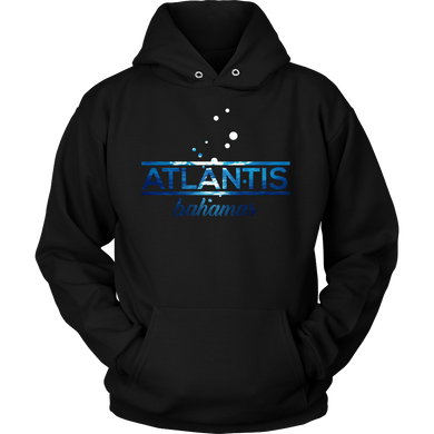 Bahamas Atlantis, Beach, Sea and Sun Underwater Hoodie