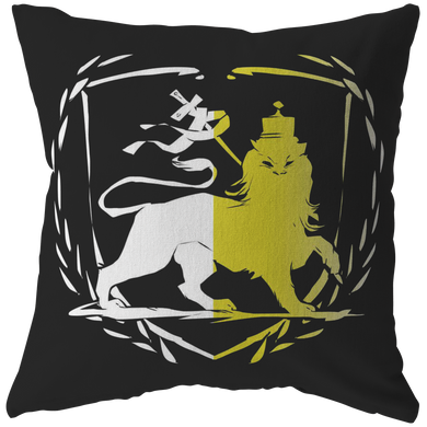 Lion Of Judah Rasta Reggae Roots Clothing Pillow