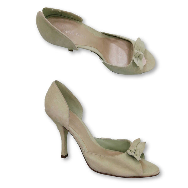 Nine West Women's  Heels Size UK 8    Colour:Green