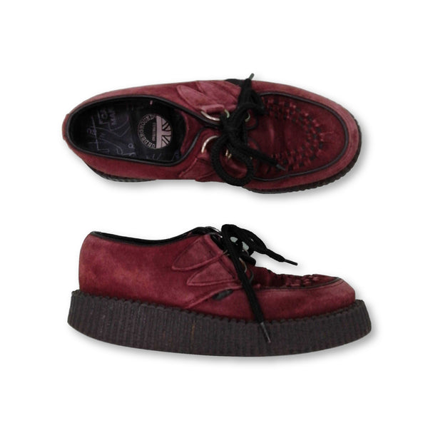 Underground Women's  Platform Shoes Size UK 4    Colour:Red