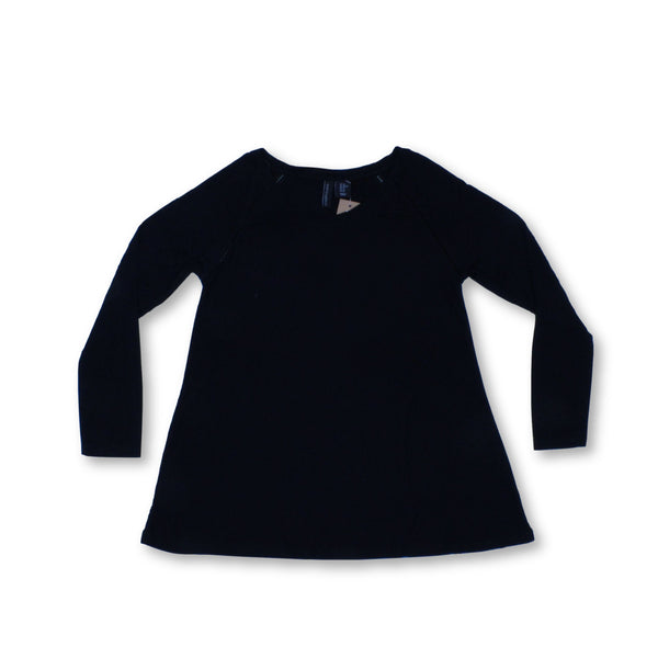 Cynthia Rowley Women's Long Sleeve Top XS   Colour:Black