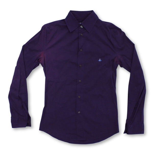 Vivienne Westwood Women's Long Sleeve Shirt L   Colour:Purple