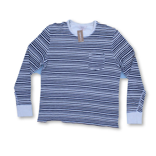 Rag & Bone Women's Long Sleeve Top L   Colour:Blue