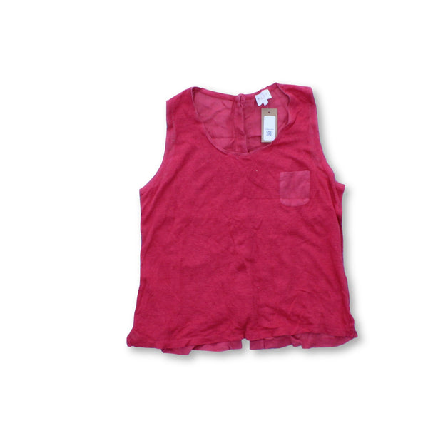 East Women's Sleeveless Top M   Colour:Red